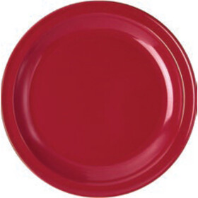 Waca Holder Melamin Flat 23,5cm, red